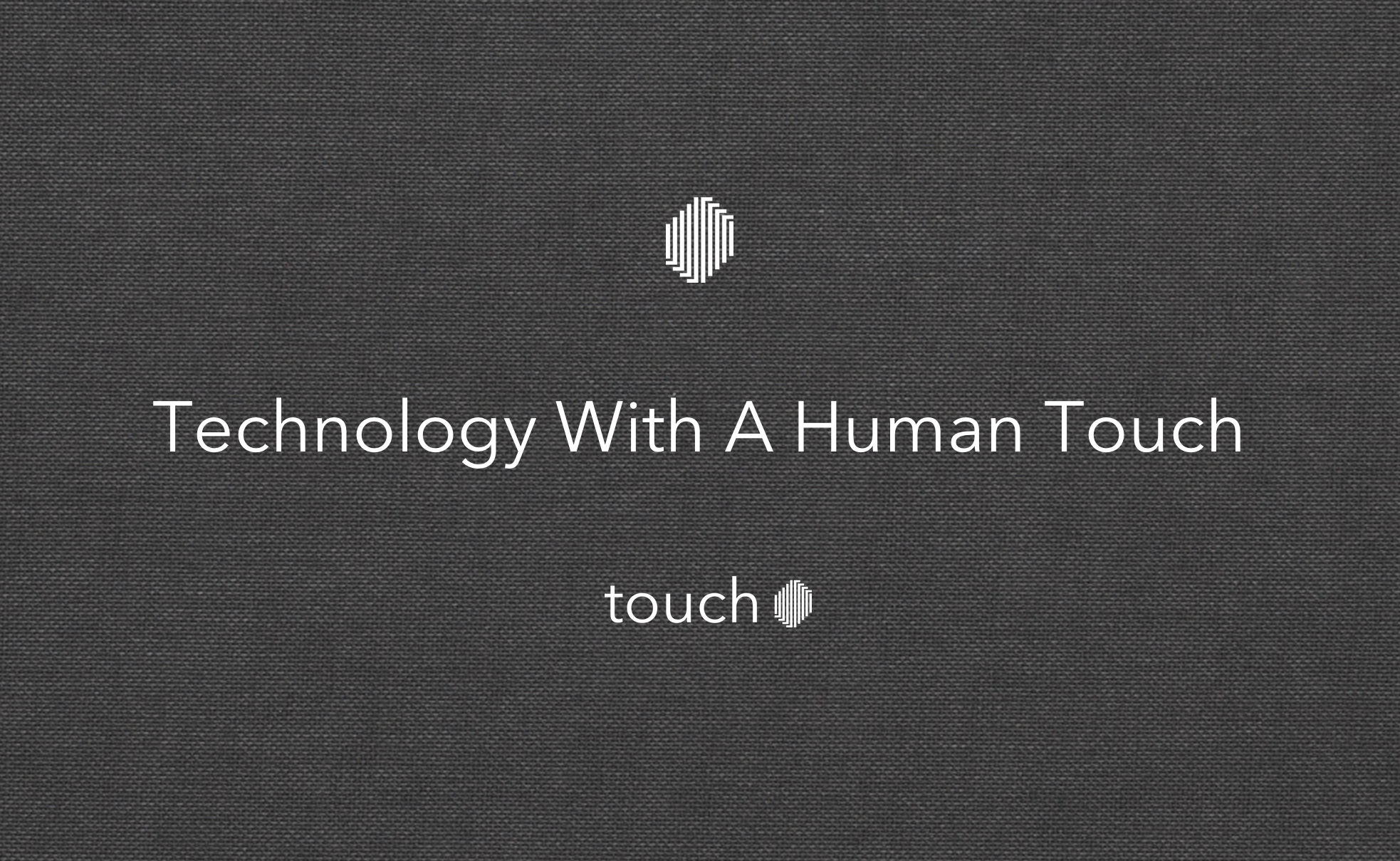technology and human touch That human touch that means so  squelched under an onslaught of changing cultural values and new technology we increasingly view touch as unhygienic and even.